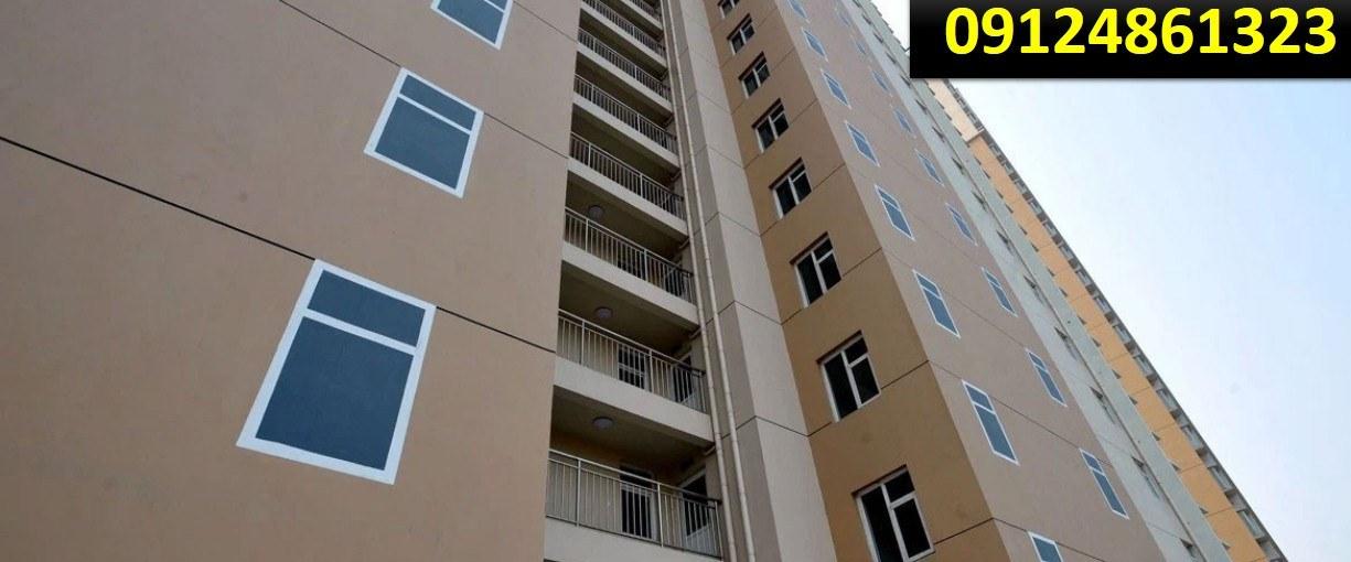 رنگ زدن نمای ساختمان